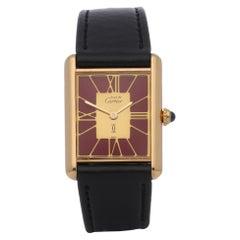 Cartier Must de Cartier 590005 Unisex Gold-Plated Watch