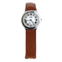 Cartier Must de Cartier Ronde Silver Ladies' Watch