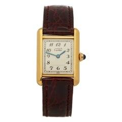 Cartier Must de Cartier Tank  Ladies Yellow Gold Paris Watch