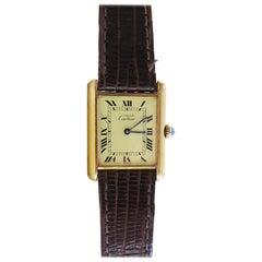 Cartier Must Watch Paris Vermeil