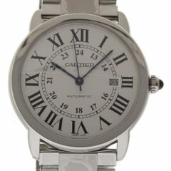 Cartier New Ronde Solo XL W6701011 Automatic Steel Box/Papers/Warranty #CA6