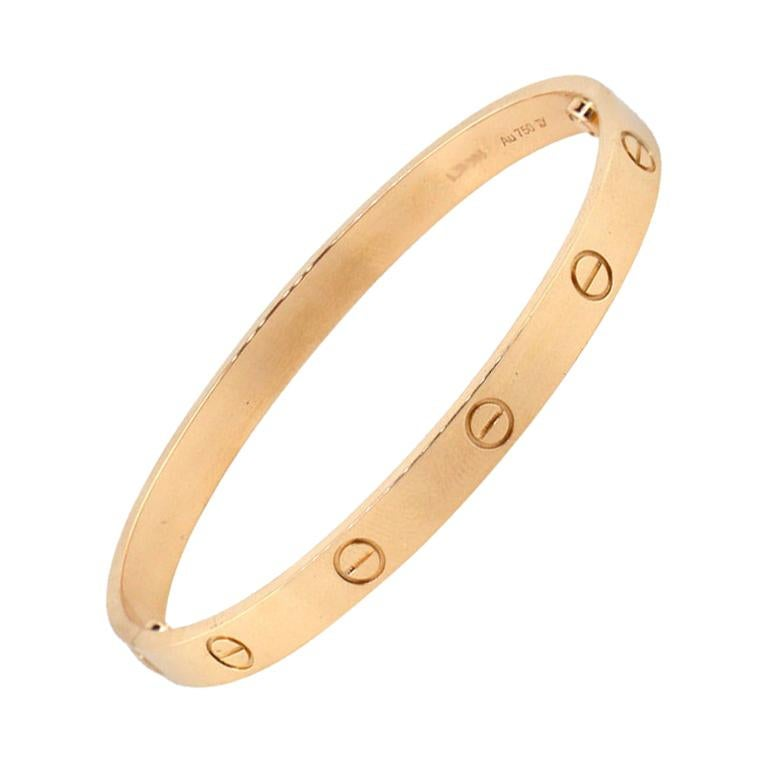 Cartier New Style Love Bangle Bracelet For Sale