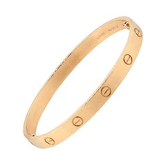 Cartier New Style Love Bangle Bracelet