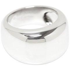 Cartier Nouvelle Vague 18 Karat White Gold Wide Ring