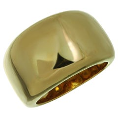 Cartier Nouvelle Vague Yellow Gold Domed Ring Band