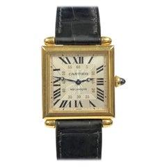 Cartier Obus Yellow Gold Mechanical Ref. 2380 Wristwatch