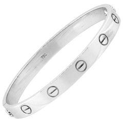 Cartier Old Style Love Bangle Bracelet