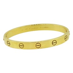 Cartier Old Style Love Bangle