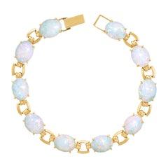 Cartier Opal-Set Gold Bracelet