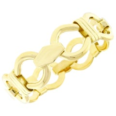 Cartier Open Link Gold Bracelet