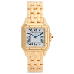 Cartier Panther 18 Karat Yellow Gold Midsize Watch WGPN0009