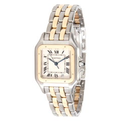 Cartier Panther 183949 Unisex Watch in 18 Karat Stainless Steel/Yellow Gold