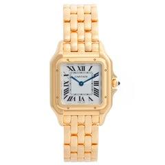 Cartier Panther 18 Karat Yellow Gold Midsize Watch WGPN0009