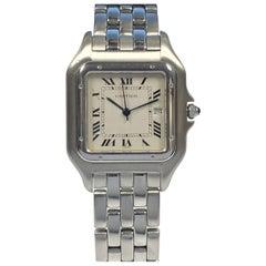 Cartier Panther Classic Large Steel Quartz Wristwatch