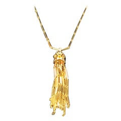 Cartier Panther De Cartier Large Yellow Gold and Gemstone Necklace