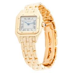 Cartier Panther Ladies 18 Karat Yellow Gold Panthere Watch W25022B9