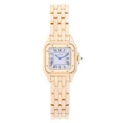Cartier Ladies Yellow Gold Panthere Quartz Wristwatch Ref W25022B9