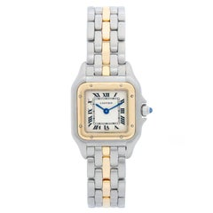 Cartier Panther Ladies 2-Tone Steel and Gold Panthere Watch