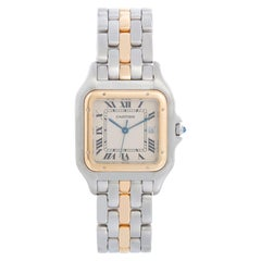 Cartier Panther Ladies 2-Tone Steel & Gold Panthere Watch