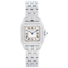 Cartier Panther Ladies Stainless Steel Panthere Watch W25033P5 1320