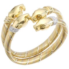 Cartier Panther Pair of Bracelets