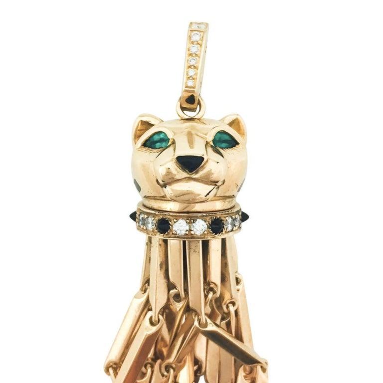 A 18 k yellow gold Cartier pendant,