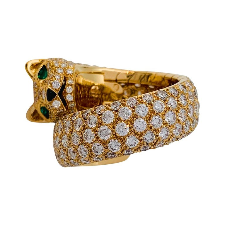 A 18 kt yellow gold Cartier ring