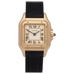 Cartier Panthère 0 107000M Ladies Yellow Gold Watch
