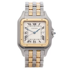 Cartier Panthère 0 187957 Unisex Yellow Gold & Stainless Steel 2 Row' Watch