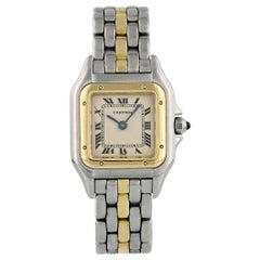 Cartier Panthere 1057917 One-Row Ladies Watch Box Papers