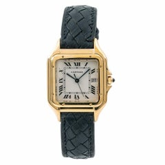 Cartier Panthere 106000M Unisex Watch 18 Karat Yellow Gold Quartz