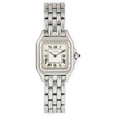 Cartier Panthere 1120 Stainless Steel Ladies Watch