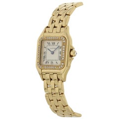 Cartier Panthere 1280 18 Karat Ladies Diamonds Watch