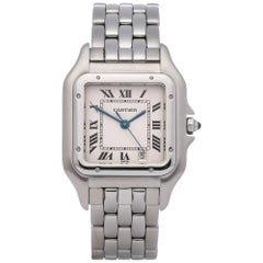 Cartier Panthère 1310 Ladies Stainless Steel Mid Size Watch