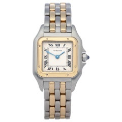 Cartier Panthère 166921 Ladies Yellow Gold & Stainless Steel Watch