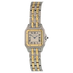 Cartier Panthere 18 Karat Yellow Gold Ladies Watch
