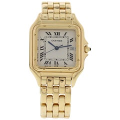 Cartier Panthere 18 Karat Yellow Gold Large 887968 Watch