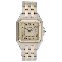 Cartier Panthere 2-Row Large Watch