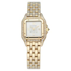 Cartier Panthere 8057915 18k Yellow Gold & Diamonds Ladies watch