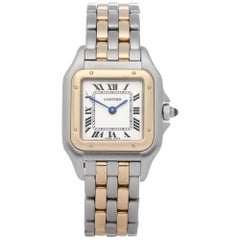 Cartier Panthère 84083241 or 1120 Ladies Stainless Steel and Yellow Gold Watch