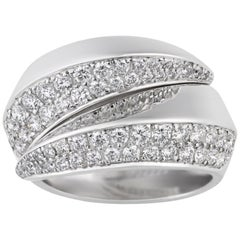 Cartier Panthère Collection Griffe Diamond Ring