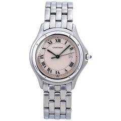 Cartier Panthere Cougar 987904 Stainless Swiss Quartz Watch