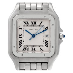 Cartier Panthere de Cartier 1300, White Dial, Certified