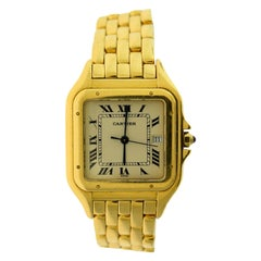 Cartier Panthere de Cartier Medium Quartz Watch in 18 Karat Yellow Gold