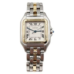 Cartier Panthere de Cartier Midsize 18 Karat Yellow Gold Stainless Steel