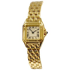 Cartier Panthere de Cartier Mini Model Quartz 18 Karat Yellow Gold