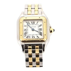 Cartier Panthere de Cartier Quartz Watch Stainless Steel and Yellow Gold 22
