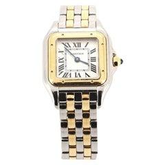 Cartier Panthere de Cartier Quartz Watch Stainless Steel and Yellow Gold