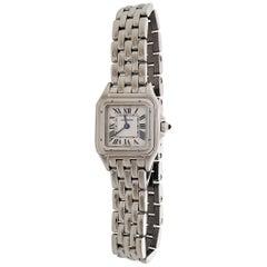 Cartier 'Panthère de Cartier' Stainless Steel Watch