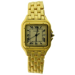 Cartier Panthere de Cartier Watch in 18 Karat Yellow Gold Watch